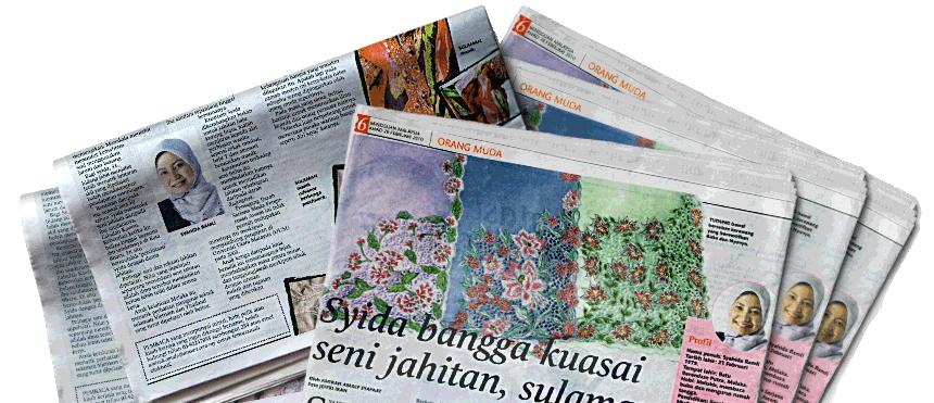 Keratan Akhbar Mingguan Malaysia Butik Sri Classic