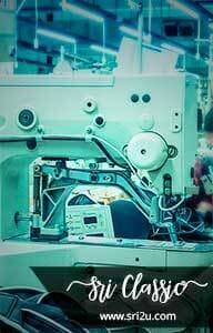 Mesin Industri Untuk Menyulam Secara Heavy Duty